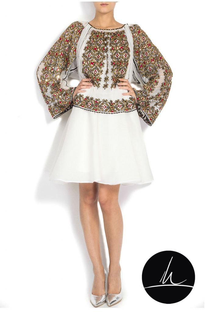 Rochie traditionala de mireasă - Izabela Mandoiu