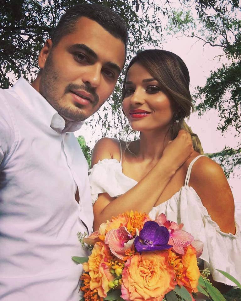 rochie logodnă Izabela Mandoiu