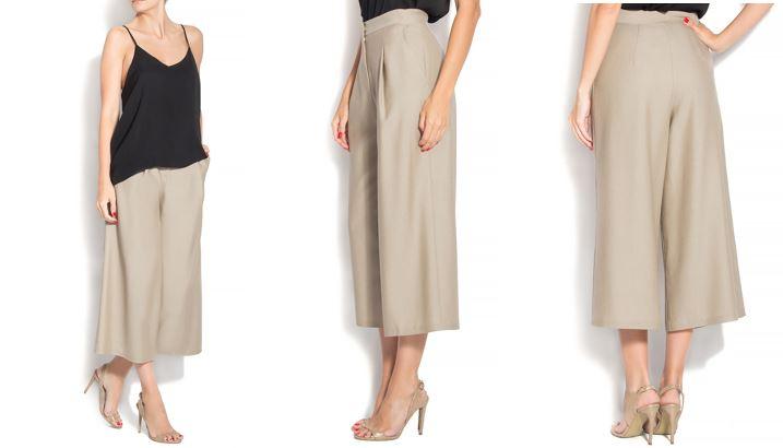 pantaloni culottes Izabela Mandoiu