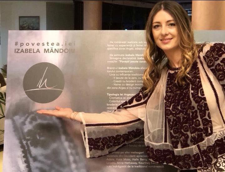Povestea iei contemporane Izabela Mandoiu