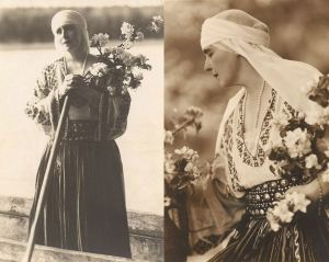 Regina Maria purta ia cu mândrie