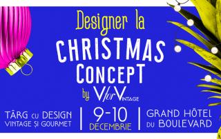 V for vintage Christmas Concept Izabela Mandoiu