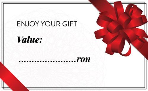 gift card pret personalizat Izabela Mandoiu