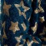 Jacheta bumbac cu stele metalizate Izabela Mandoiu