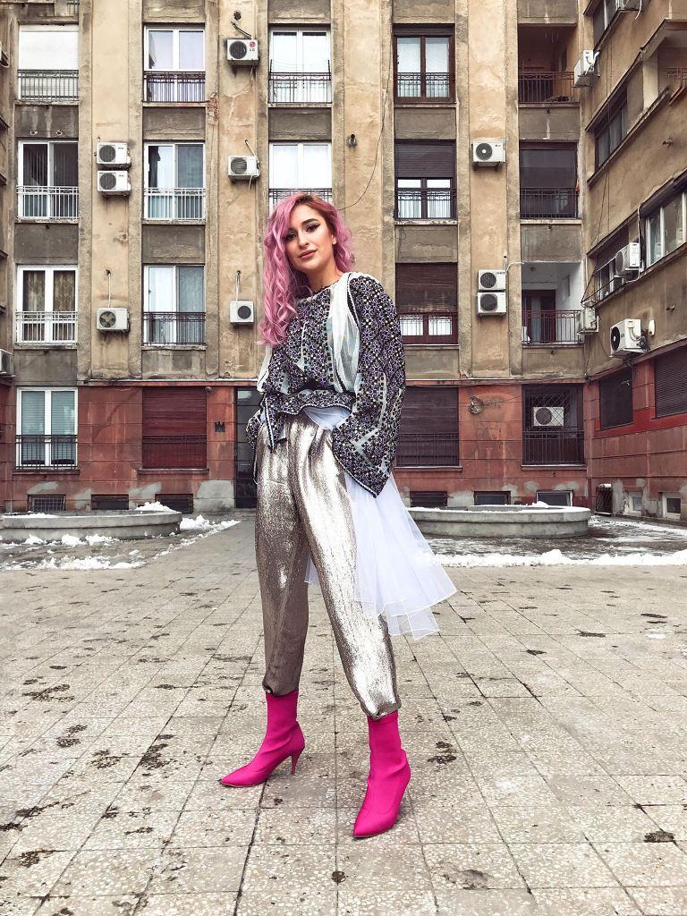 Izabela Mandoiu outfit - Larisa Raicu blogger